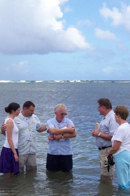 Ocean Baptism, 2007