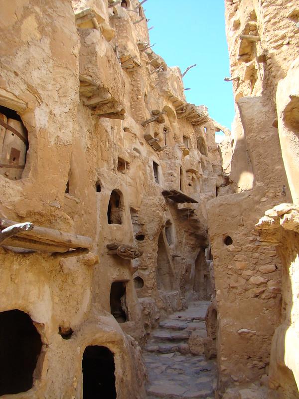 granero bereber Ksar Kabaw Libia 18