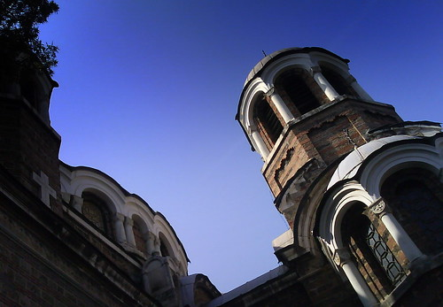 Church towers in Sofia