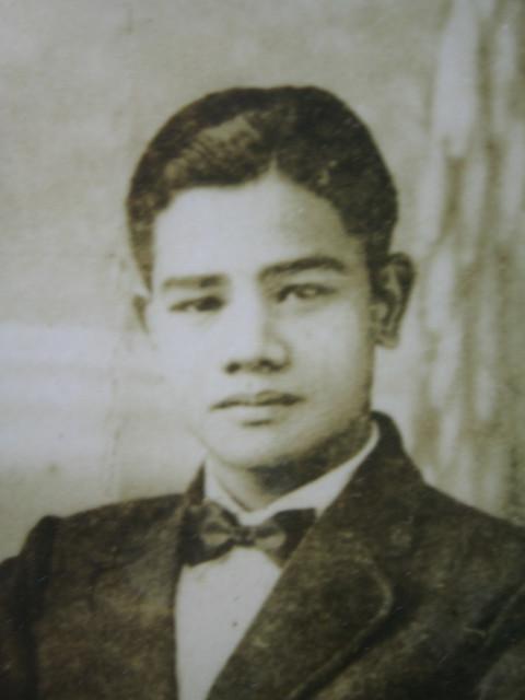 Young Luis Palomo Untalan