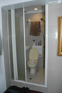sink toilet shower combo it s a