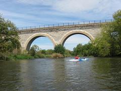 Kayaking near Tiffany Bridge