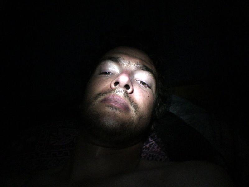 Night-time video diary