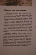 Veränderungen und Entwicklung
