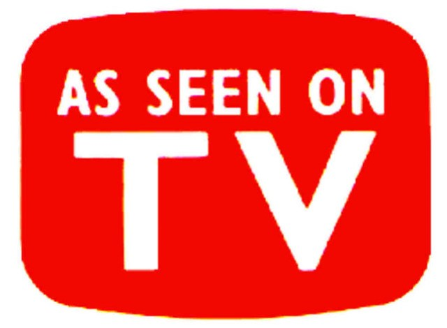 products as seen on tv