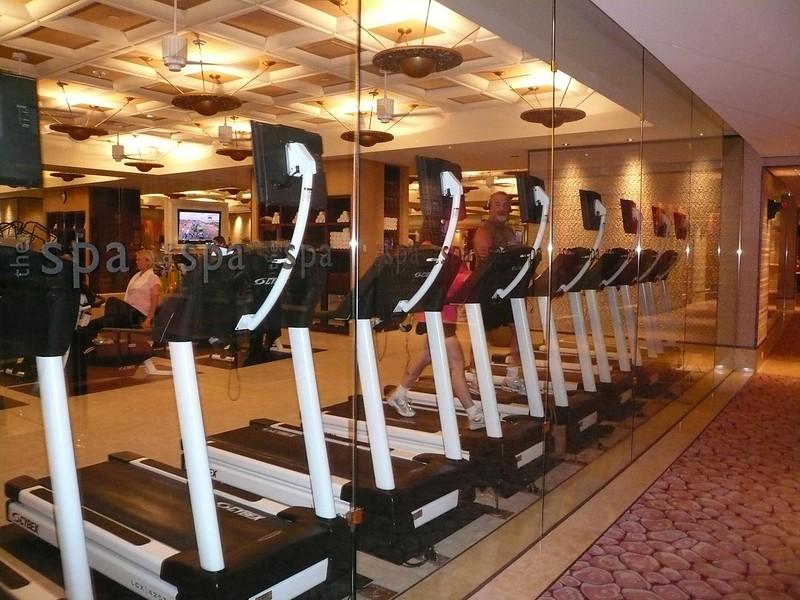 Spa Exercise Room Wynn Hotel Las Vegas July 2009