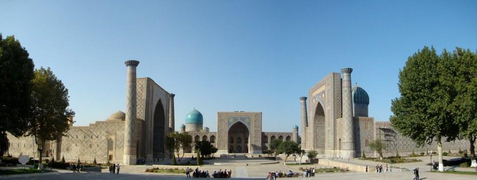 Samarkanda Plaza Registan Uzbekistan 01