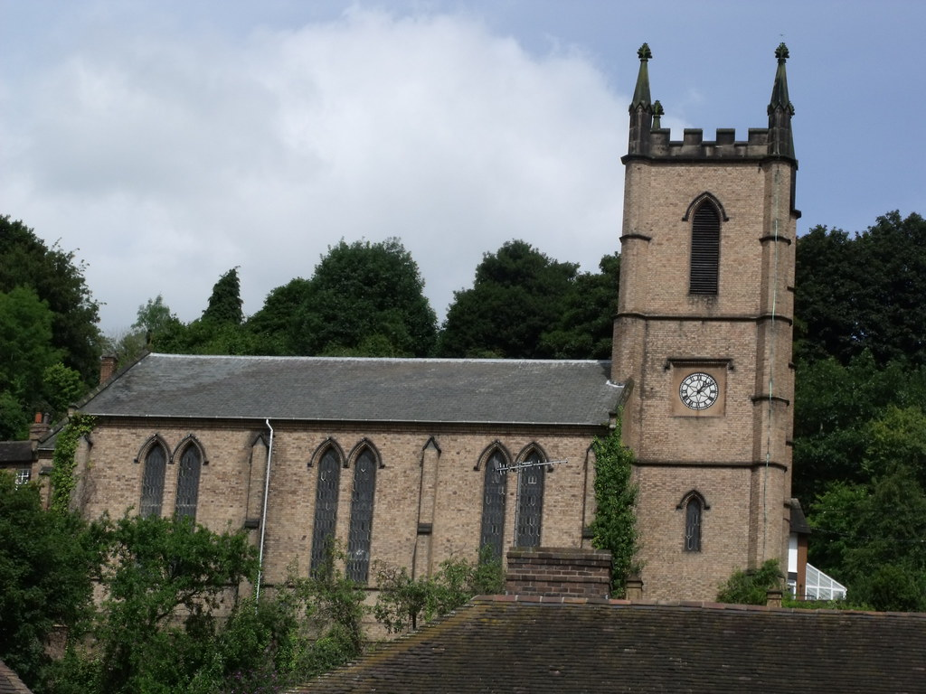 Church of St Luke in Ironbridge | Above the Tontine Hotel is… | Flickr