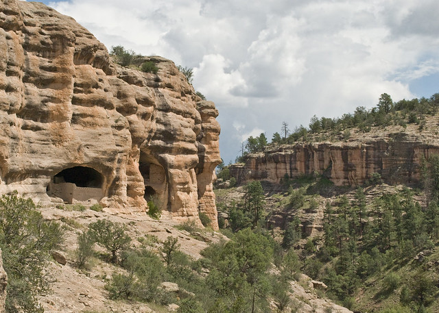 Gila Cliff Dwellings Caves 3 and 4