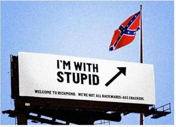 confederate stupid