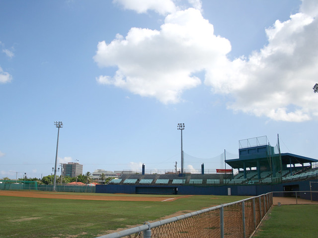 Inside Paseo Stadium