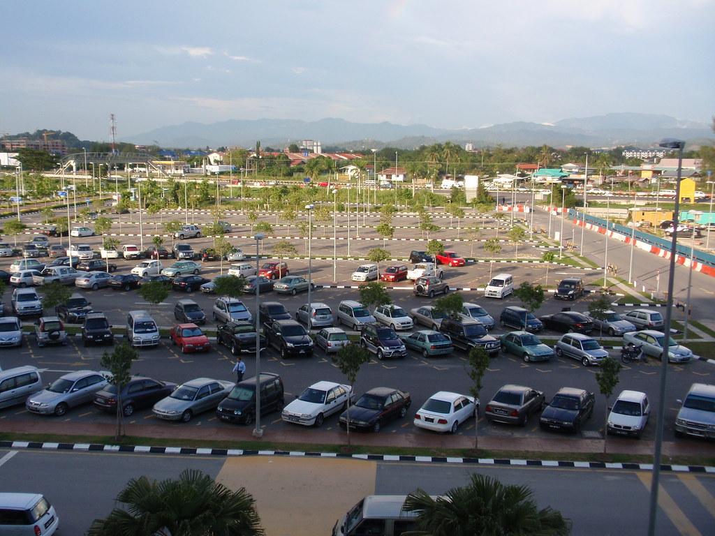 View Over Terminal 1 Carpark, BKI