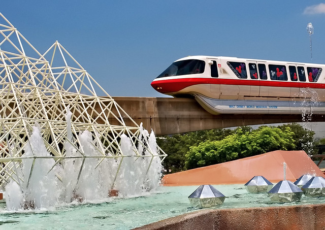 Daily Disney - Future World Monorail