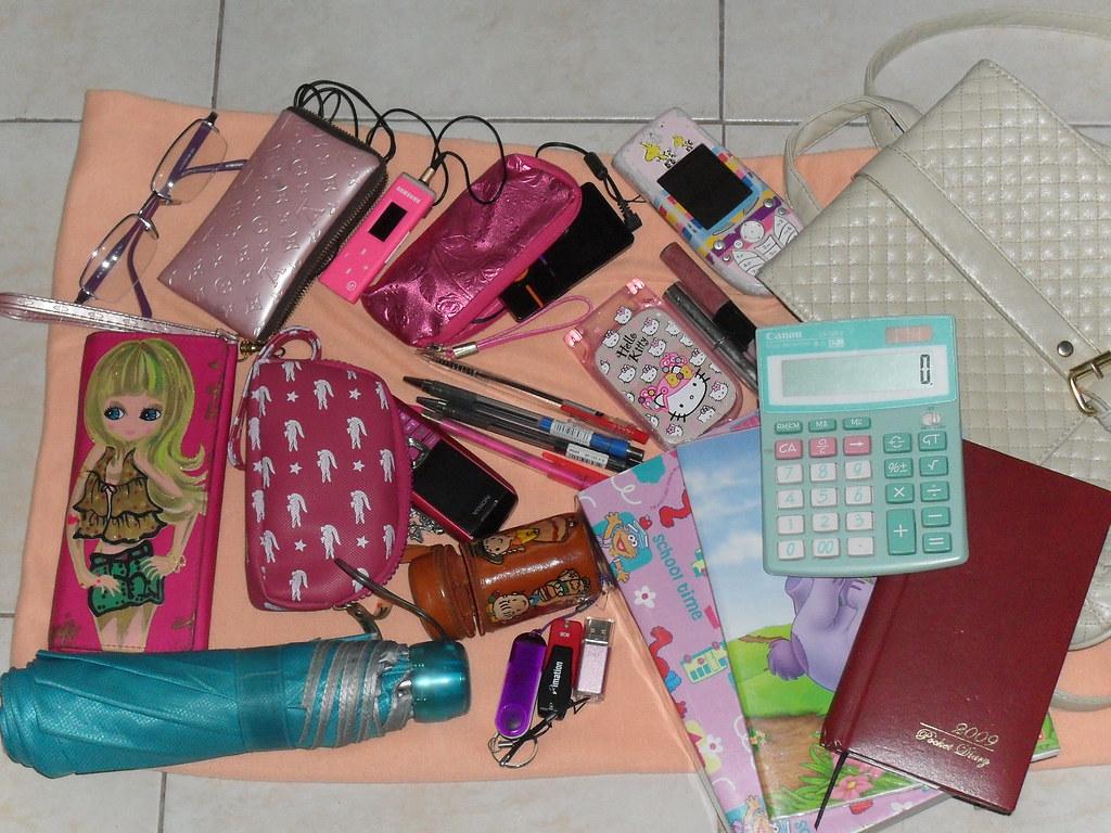 What S Inside My School Bag