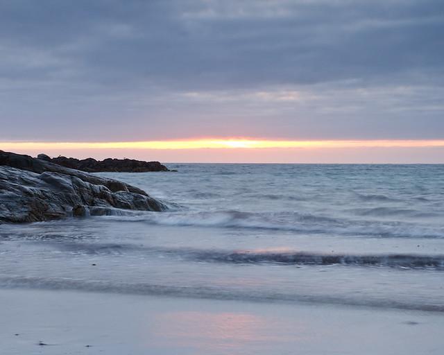 Sunset at Culla Beach