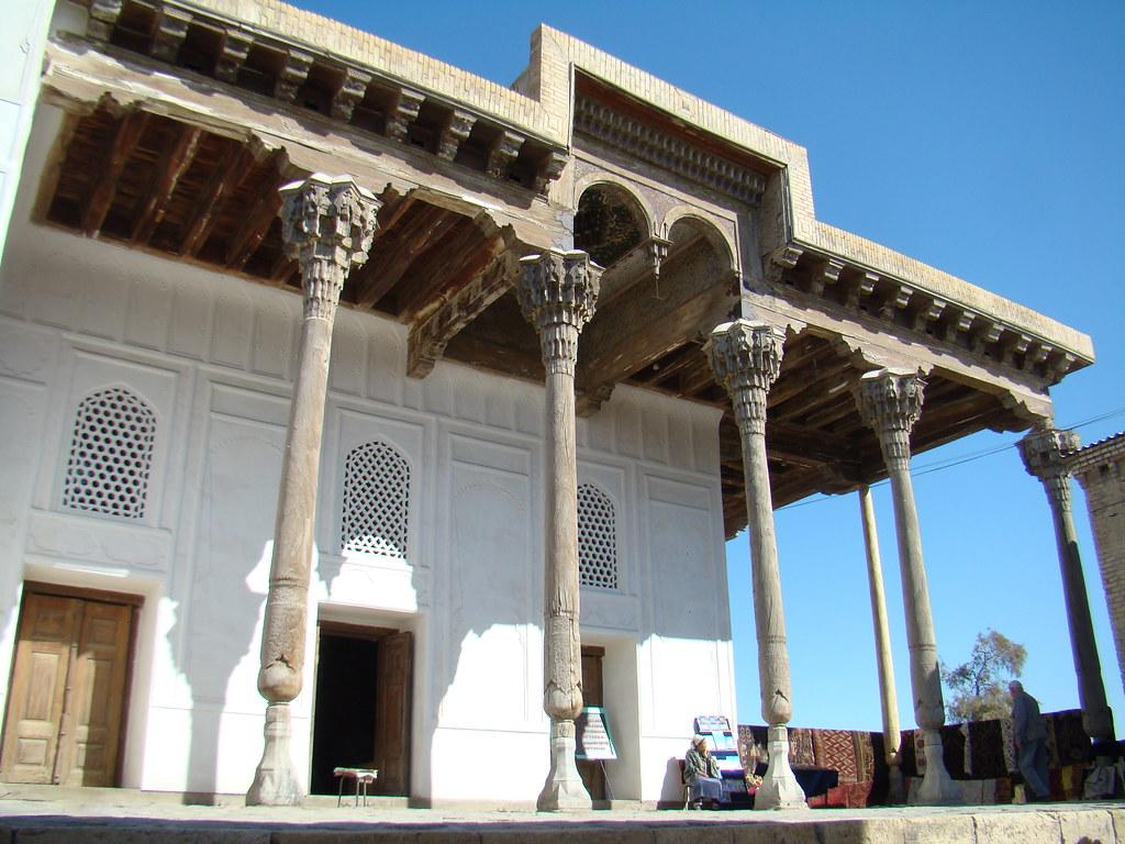Bujara Ciudadela Ark Urbekistan 03
