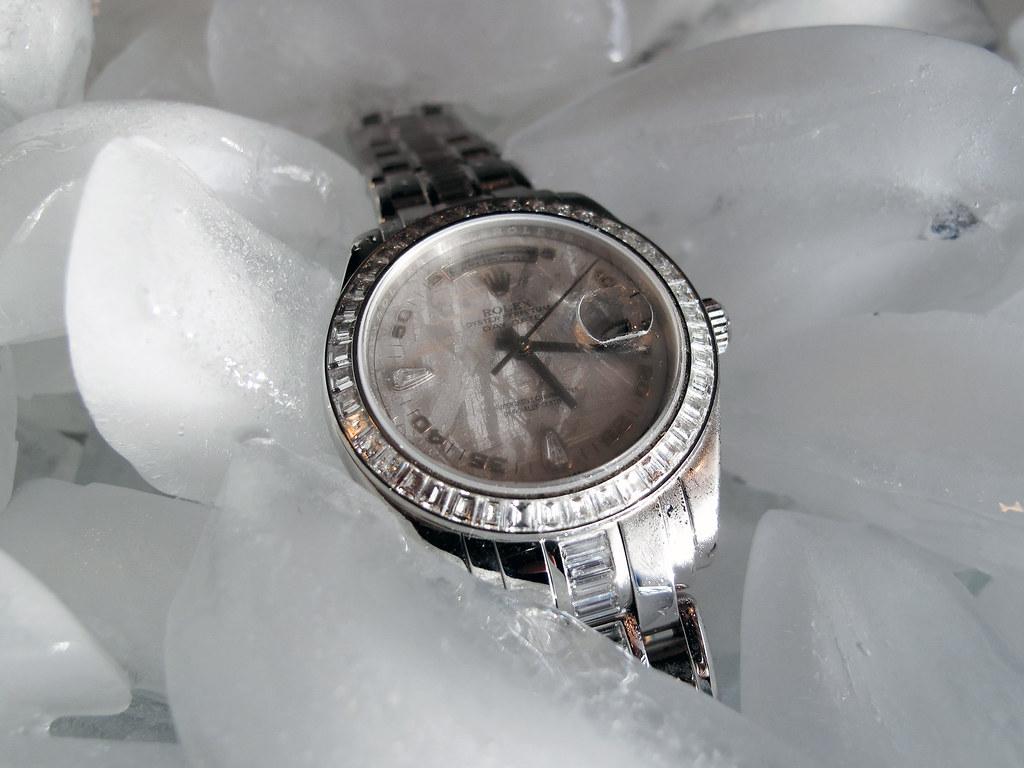 Rolex Platinum Masterpiece (18956 BRIL)