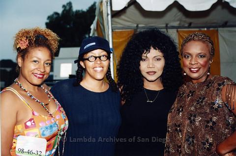 Backstage at San Diego LGBTQ Pride Festival, 1998