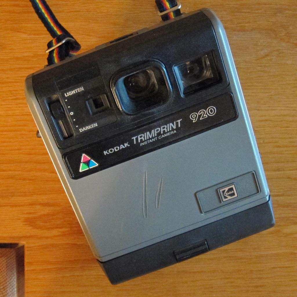 Kodak Trimprint 920 instant camera