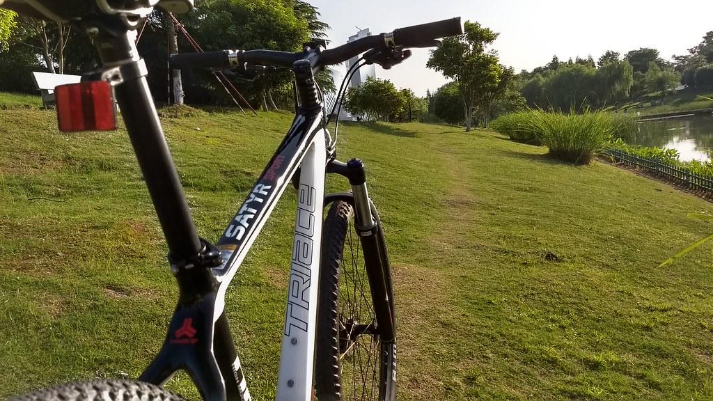 Riding a Triace Satyr through Yiwu Jiancheng Shouge Wetland Park