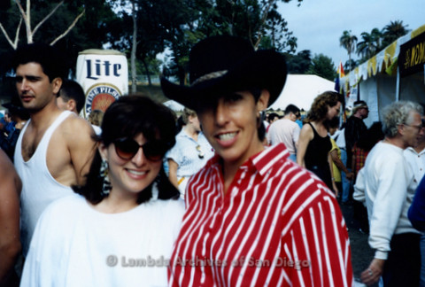 San Diego Pride Festival, July 1992