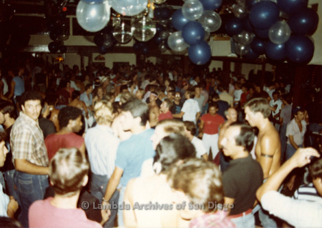 1982 - Mr. Dillons Gay Men's Dance Club.