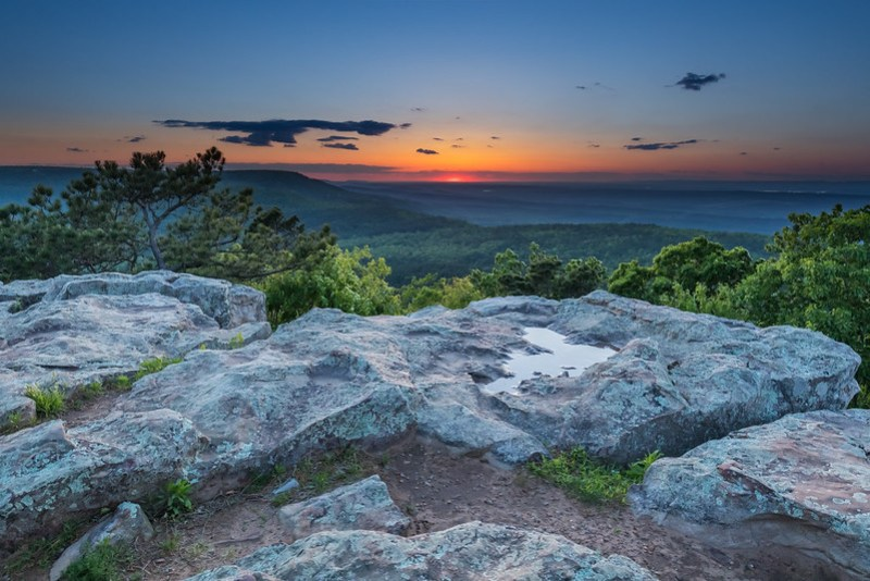 Mount Nebo Sunset