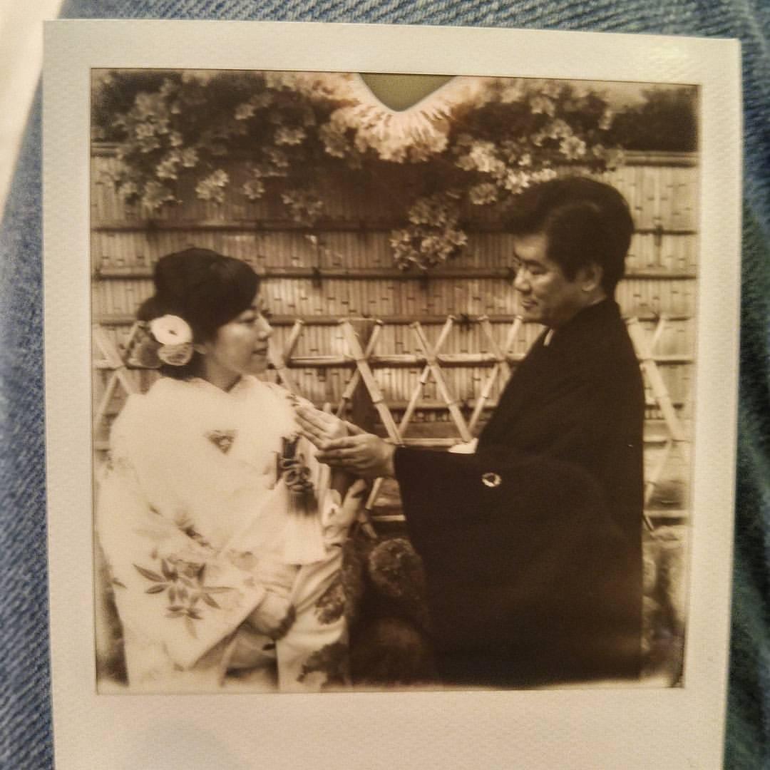 #polaroid #istantanea #impossibile #Kamakura #wedding