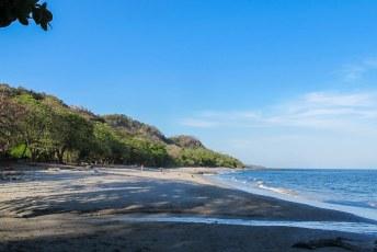 Daar zou ook een mooi strand zijn volgens de gidsen.