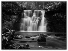 2767BW - Goit Stock Falls - the main falls