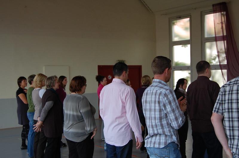 2009-10-25 Choreografie Workshop mit Britta Adams, 25. Oktober 2009