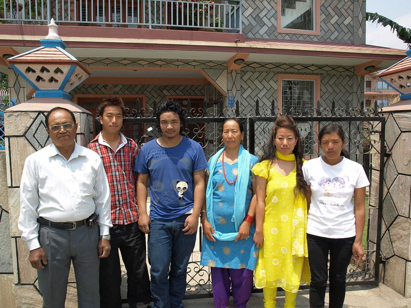 Meena's family