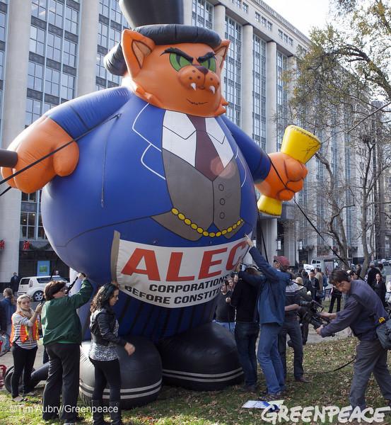 ALEC Fat Cat In DC