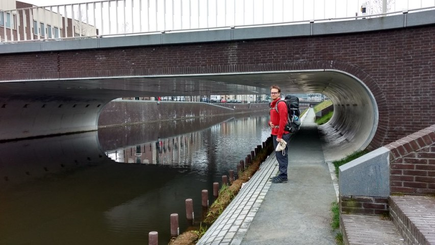 Utrecht canal - looking towards the station