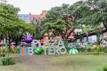 Een bezoekje aan het Plaza Botero in Medellin is natuurlijk een must.