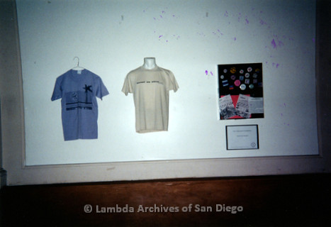 P199.031m.r.t LGHSSD display of t-shirts at The Center for mayor donor event