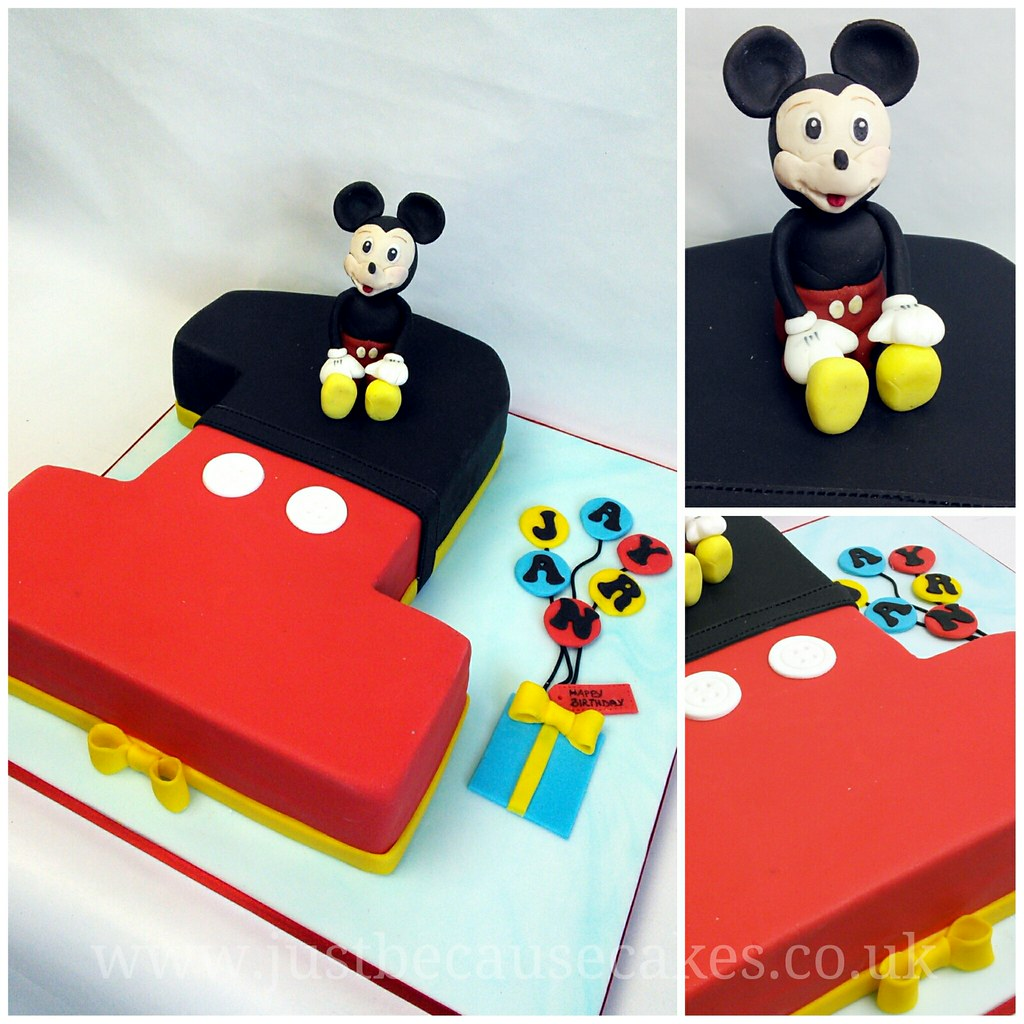 Mickey Mouse First Birthday Cake Mickey Mouse First Birthd Flickr