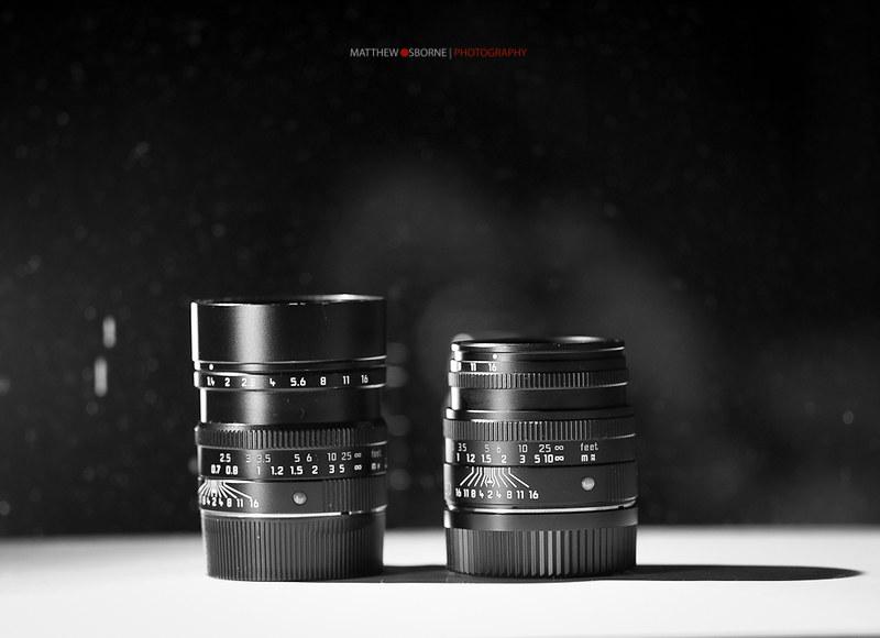 Leica 50s - Summilux & Summicron