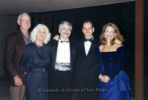 P237.024m.r.t Center Events: Five people at formal event
