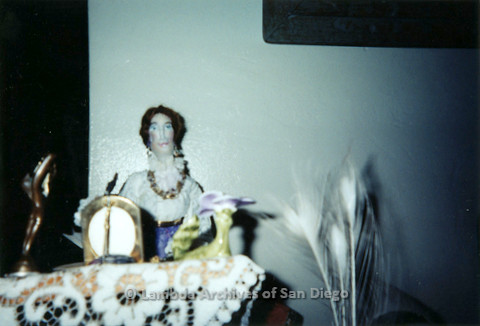 """P126.034m.r.t Muriel Fisher's: """"Doll"""" photographed in her apartment"""