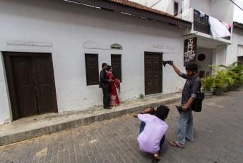 alle pas getrouwde stelletjes komen hier om foto's te maken