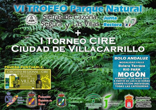 Cartel VI Trofeo Parque Natural de Bolo Andaluz reduc