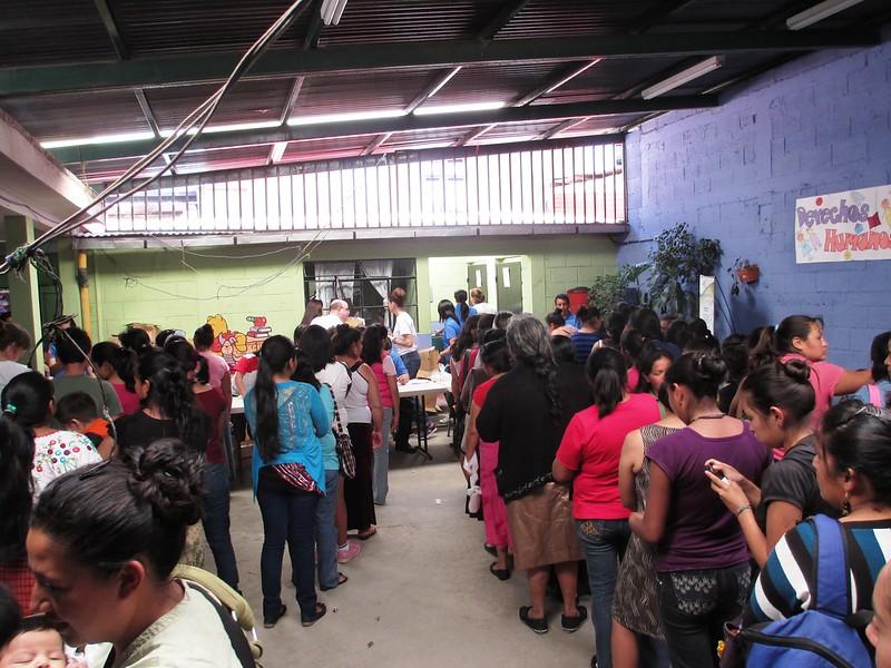 Soap Distribution, Children International Office in Guatemala, May 2014