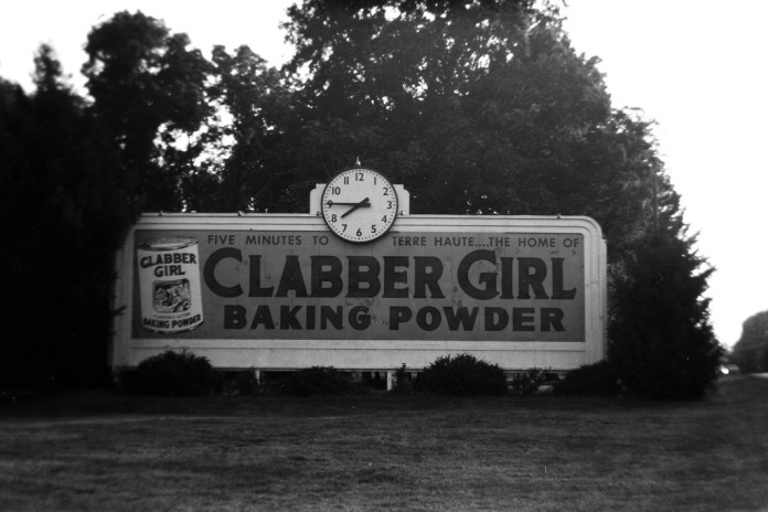 Clabber Girl billboard
