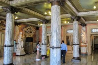 Lobby van het Teatro Nacional.