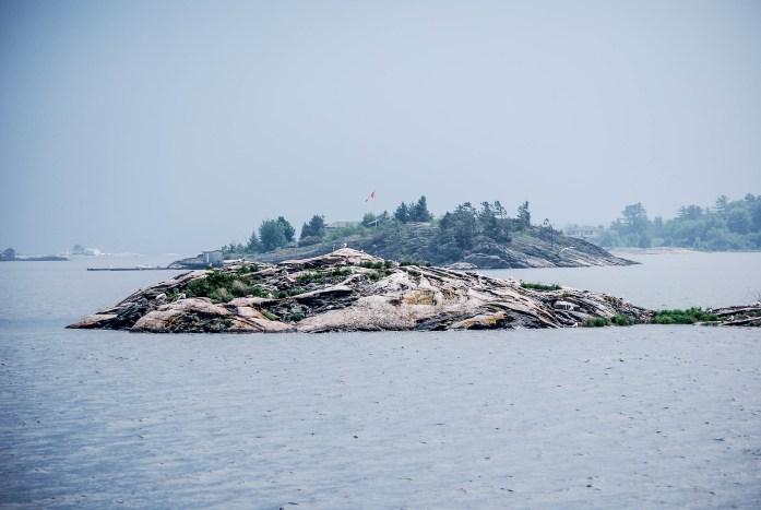 Lago Huron Canada
