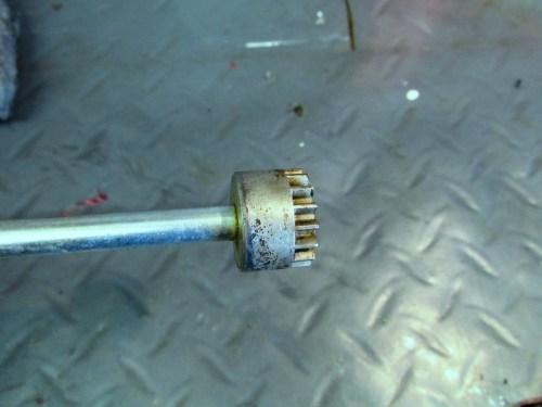 Steering Damper Rod Detail