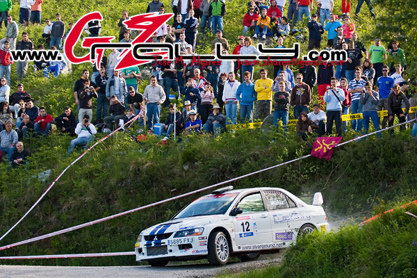 Spanish Tarmac Rally Championship 2009..Campeonato de España de Rallyes de Asfalto 2009