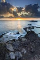 Sonnenaufgang am Faro de Arinaga