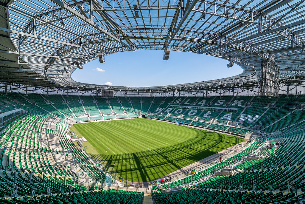 Wroclaw Stadium Municipal Stadium In Wroclaw Stadion